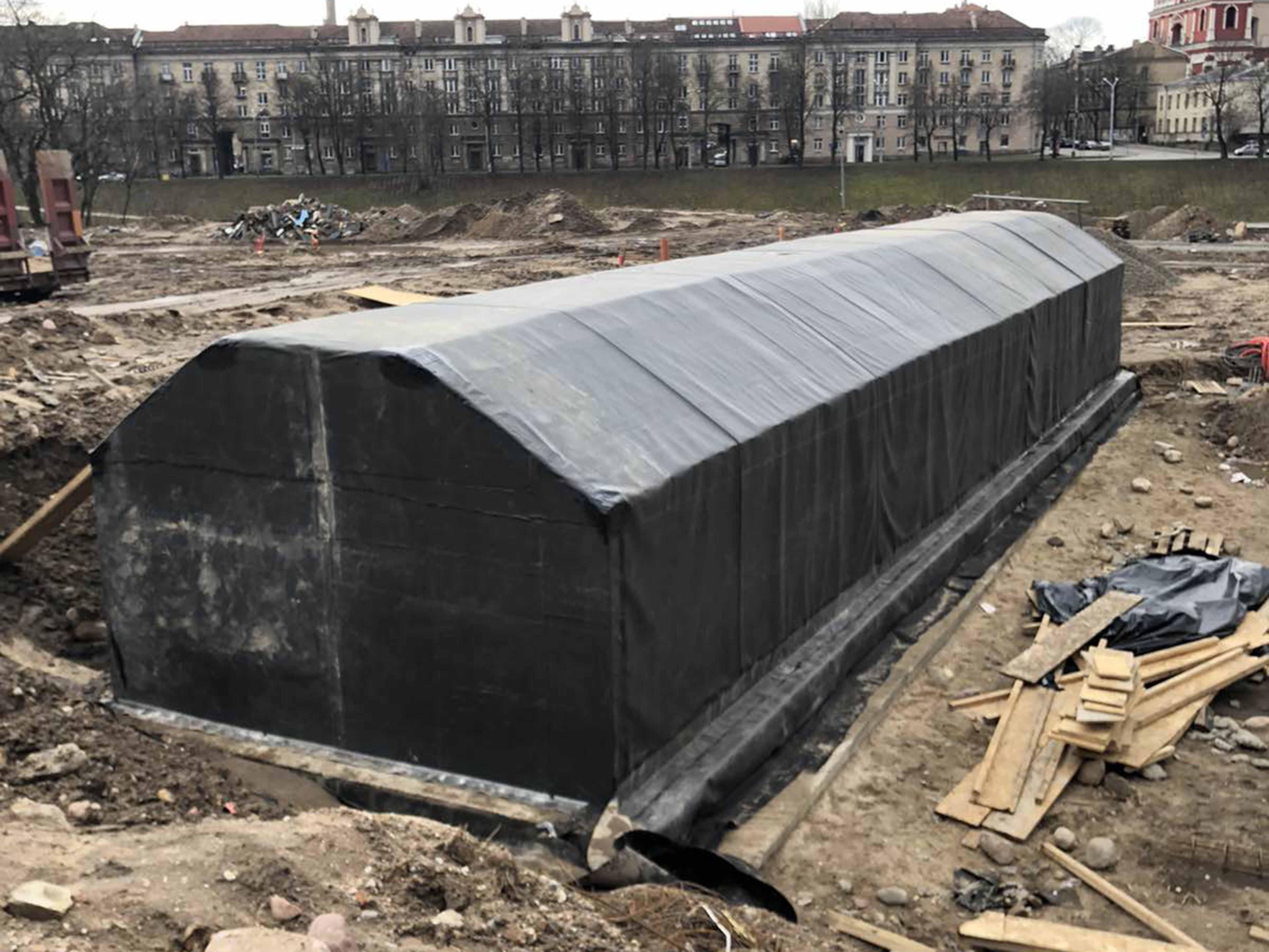 Požeminė persirengimo patalpa, Vilnius - 2020 m.
