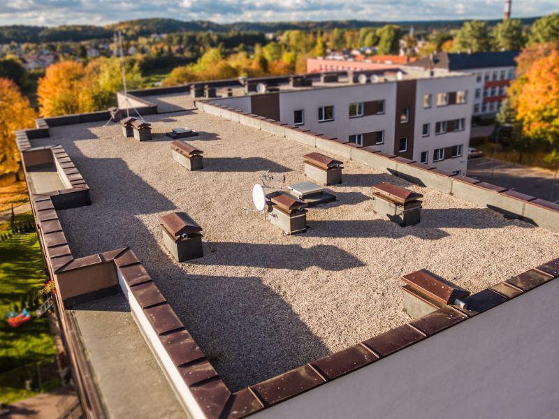 Daugiabučio namo stogas Grigiškėse 2012 m.